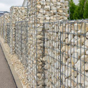 gabion clôture